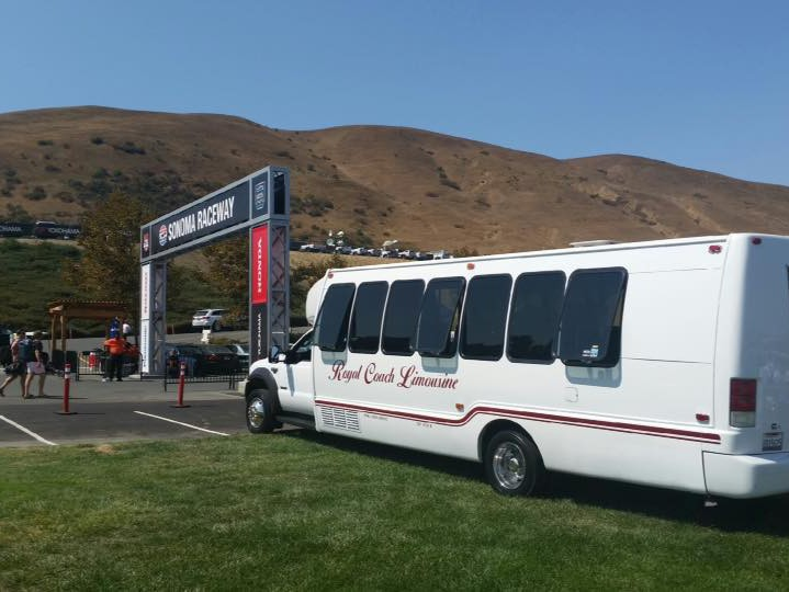 Napa and Sonoma Valley sporting event transportation
